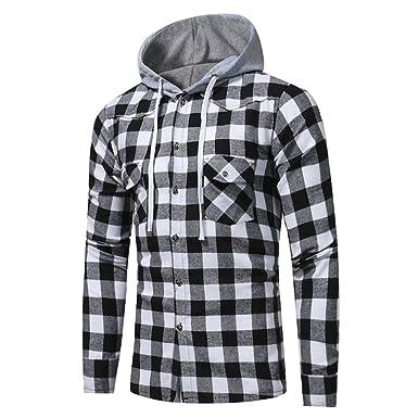 5cd9b14a Mens Shirt,Haoricu 2018 Retro Classic Men Gifts Fashion Long Sleeve Hoodies  Shirt Casual School