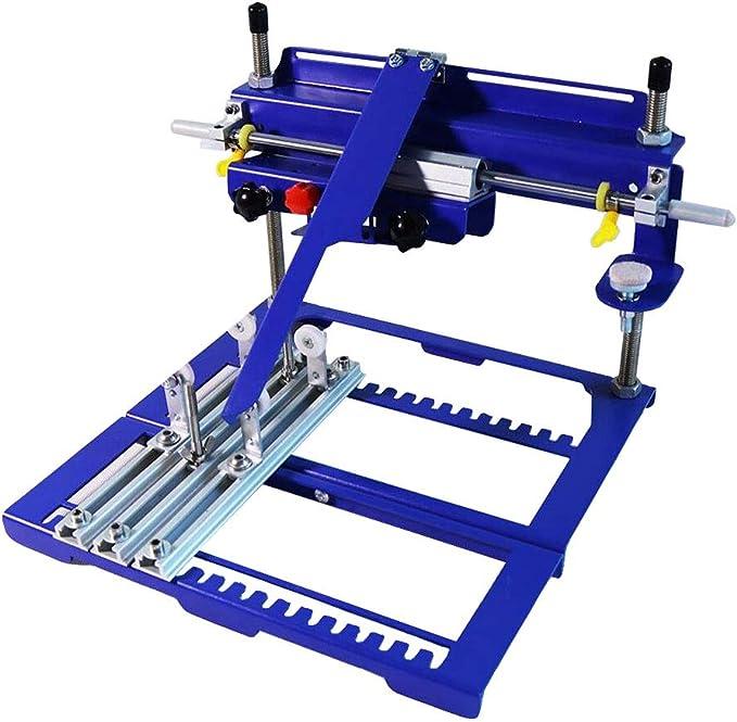 Anbull Curved Screen Printing Press Manual Cylinder Screen ...