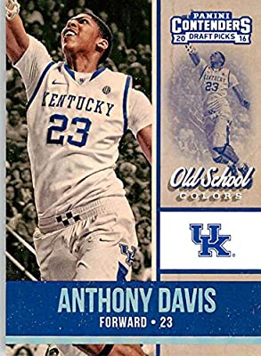 Basketball NBA 2016-17 Panini Contenders Draft Picks Old School Colors #2 Anthony Davis NM-MT