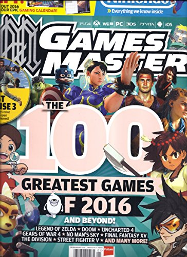 Games Master Magazine (January 2016 - With Free Gaming Calendar) (Street Fighter Calendar)