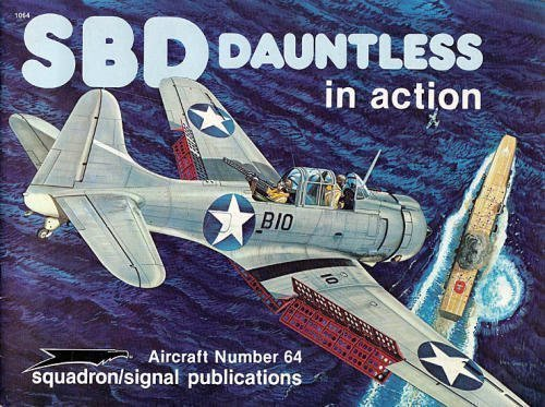 SBD Dauntless in Action - Aircraft No. 64