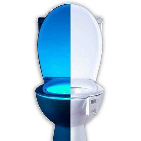 Mind Glowing 16 Color Motion Sensor Toilet Bowl Night Light