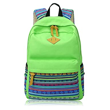 ea93c4a71dd1e Vox Girl Backpack for School Teenagers School Rucksack Canvas Laptop  Backpack Cute Bookbag for Teens