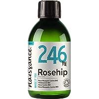 Naissance Organic Rosehip Seed Oil (Rosa Canina) (nr. 246) 250ml - Puur en natuurlijk, gecertificeerd biologisch…