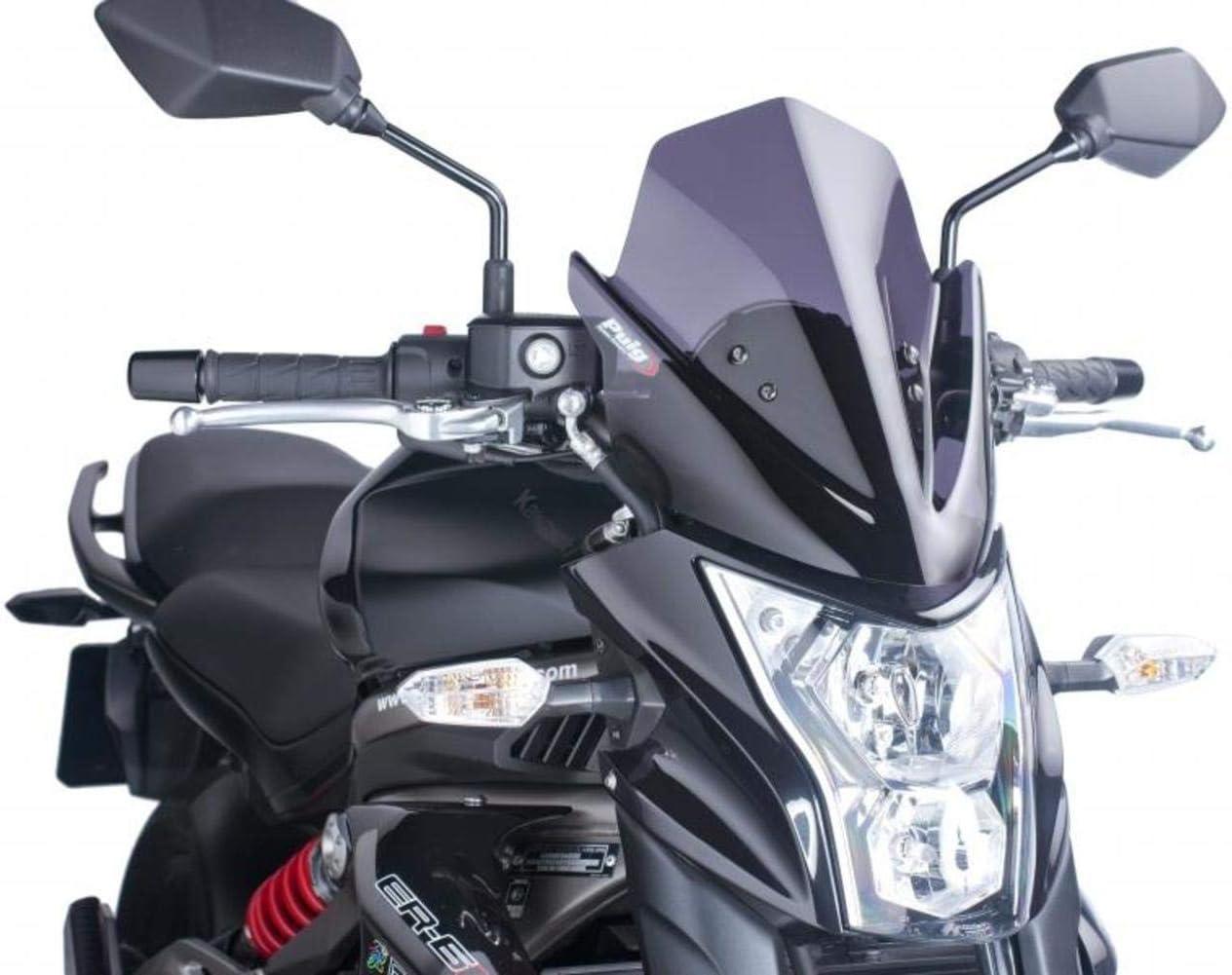 Taille M 2014 fum/é fonc/é Puig 5997/F Pare-Brise pour Kawasaki ER-6/N 2012
