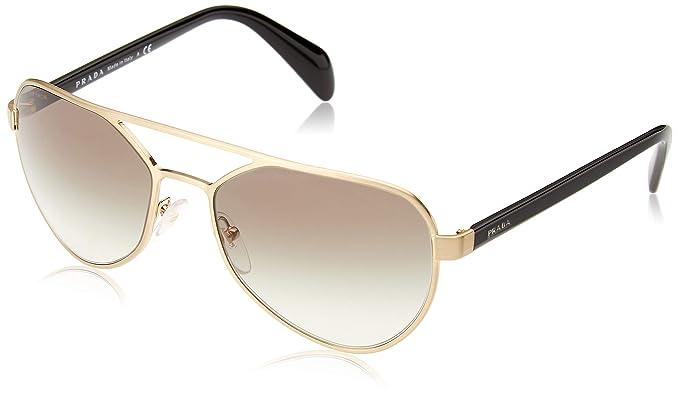 Prada Type PR55RS - gafas de sol Hombre, Dorado (Brushed ...