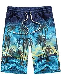 Men's Slim Quick Dry Beach Swim Trunks