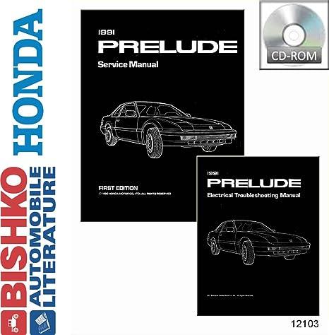 amazon com bishko automotive literature 1991 honda prelude shop rh amazon com 90 Honda Prelude 99 Honda Prelude