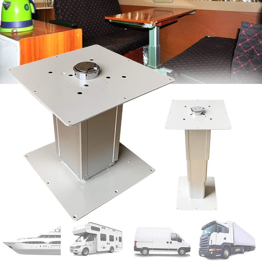 Caravanas Mobiliario Interior para Autocaravanas Autocaravanas Tatami Mesa de Aleaci/óN de Aluminio con Elevaci/óN Neum/áTica Barcos Mesa de Comedor Para RV Camper Furgonetas