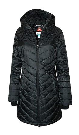 Amazon.com  Columbia Women s Morning Light II Omni Heat Long Jacket ... aeb770d5020a