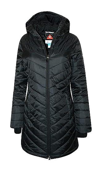 c4b27ee1c Columbia Women's Morning Light II Omni Heat Long Jacket Coat Puffer