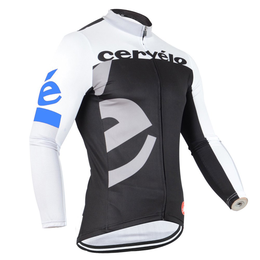 Strgao 2016 Men 's Pro Racing Team MTBバイク自転車サイクリング長袖ジャージージャケット B0190MFR56 Small|D D Small