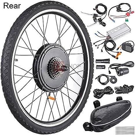 MegaBrand - Kit de motor eléctrico para bicicleta (LCD, 48 V, 1 kW ...