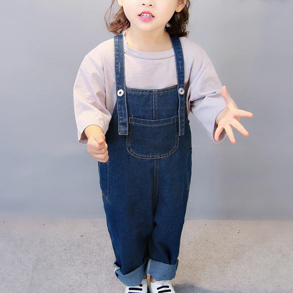 Guiran Pantalones Vaquero De Peto para Beb/é Ni/ños Ni/ñas Largo Lindo Tirantes Pantalones Overall Mono
