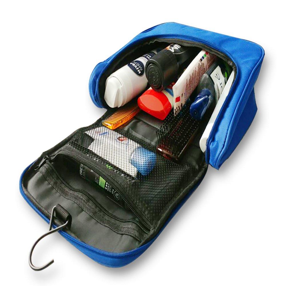LifeBox 旅行用トイレタリーバッグ ブルー B01KP21TWU  ブルー B01KP21TWU