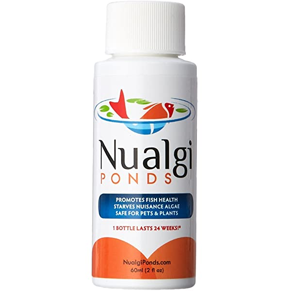 Nualgi Ponds (1 x 60ml) - Natural Algae Control, Water