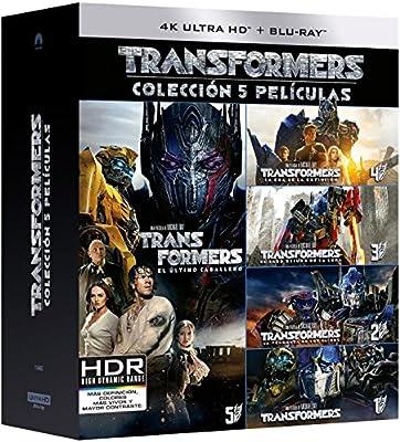 Pack: Transformers 1-5 (4K UHD + BD) [Blu-ray]: Amazon.es: Mark ...