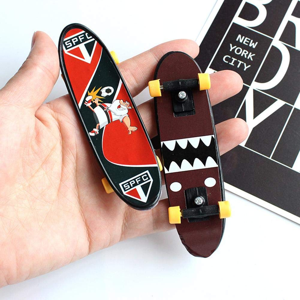 LUCKY Luckybaby Childrens Educational Toys Creative Fingertip Movement Finger Board Mini Finger Skateboard Mini Skateboard Juguetes Fingerboard Tech Deck j/óvenes ni/ños Regalos