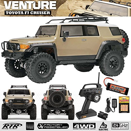 (Hobby Products International Racing 117165 1/10 Venture Toyota FJ Cruiser 4WD Ready to Run Beige Radio Control Vehicle)