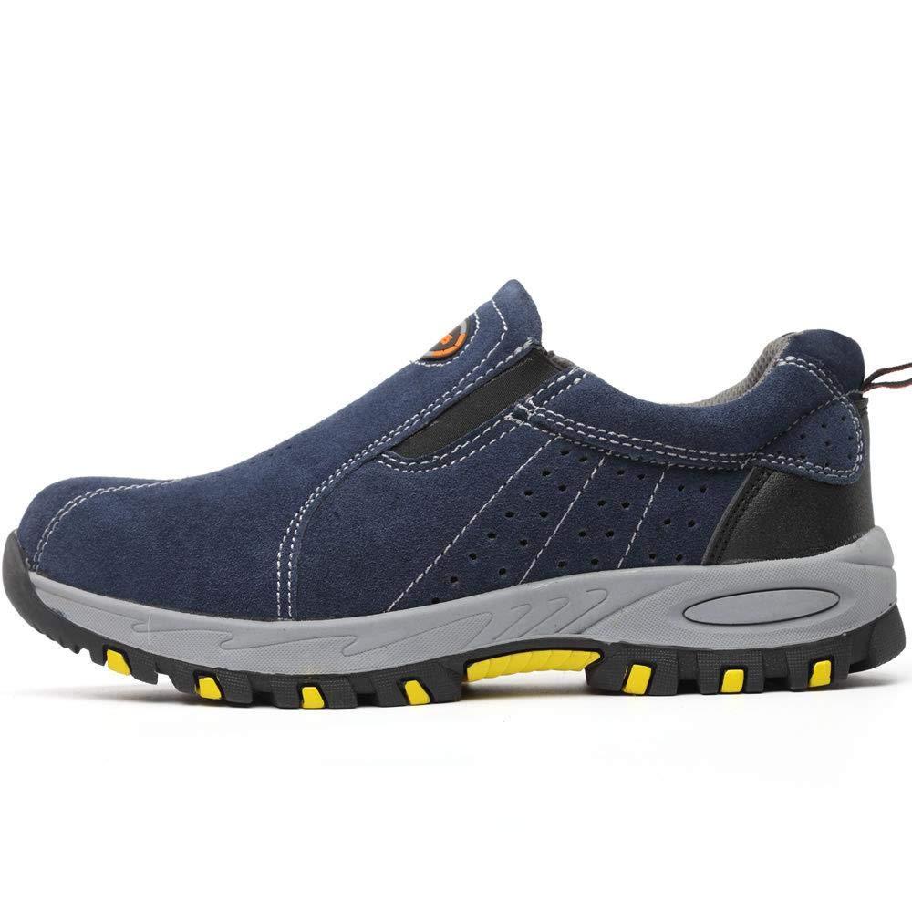 Zapatos De Seguridad Antipinchazos con Una Sola Pierna Y A Prueba De Pinchazos Varios Tama/ños Disponibles Zapatos De Seguridad Laboral Zapatos De Trabajo para Hombres 45