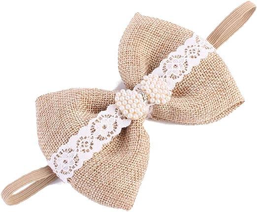 Baby Mädchen Stirnband Geschenk Strass Blume Haarband Stirnband Kopfband