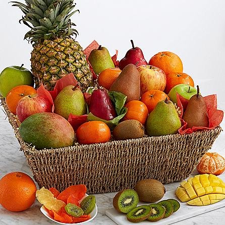 Eshop's Fresh Fruit Basket - Same Day Gift Baskets Delivery - Fresh Fruit Baskets - Fruit Basket Delivery - Organic Fruit Baskets - Best Gift Baskets (Flower Delivery Fruit)