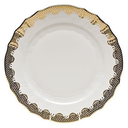 Herend Fish Scale Gold Dinner Plate  sc 1 st  Amazon.com & Amazon.com | Herend Fish Scale Gold Dinner Plate: Dinner Plates