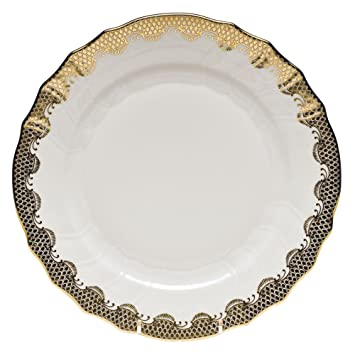 Herend Fish Scale Gold Dinner Plate  sc 1 st  Amazon.com & Amazon.com   Herend Fish Scale Gold Dinner Plate: Dinner Plates