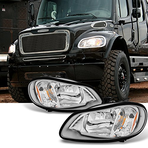For 2004-2012 Freightliner Business Class M2 | 2003-2013 M2 106 Headlights Headlamps Left & Right Side