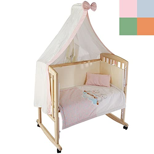 51365-01 cama Honey Bee Completa mecedora cuna para beb/és azul