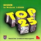 Hessen im Maßstab 1 : 25.000, 2 CD-ROMs Für Windows ab 95/NT. Einzelplatzlizenz. 1 : 25.000