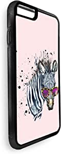 Decalac Drawing Of Zebra Cole Printed Case For Iphone 8 Plus