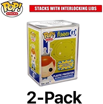 Funko Pop Stacks: Plastic Protector Case with Interlocking Lid ...