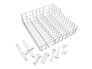 ClimaTek Upper Dishwasher Rack fits Kenmore Whirlpool W11169039 AP6284529 W10779821