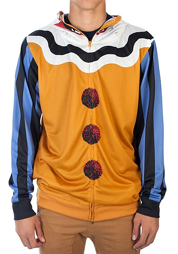 Amazon.com: Bioworld Mens Scary Clown Halloween Costume Hoodie: Clothing