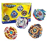 Bey Burst Battling Top God Evolution with 4D String Launcher Grip and Stadium Battle Set
