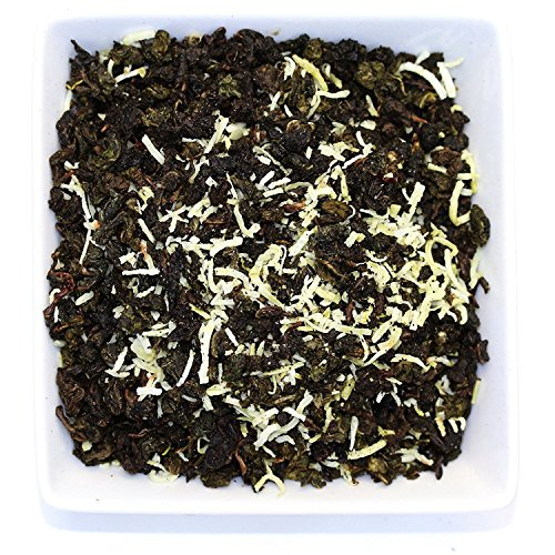 Tealyra - Coconut Milky Oolong - Mix of Fresh Coconut and Taiwanese Milk Ooolong - Loose Leaf Tea - Blend - All Natural Ingredients - 200g (7-ounce)
