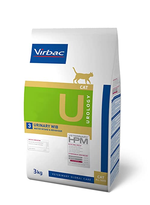 HPM Dieta para gatos U3-cat urology urinary WIB problemas urinarios