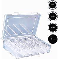 Jiusion 100 unidades cajas de plástico EVA