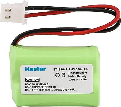 Vtech BT283642 Batería de Teléfono inalámbrico Ni-MH, 2.4 Volt, 300 mAh: Amazon.es: Electrónica