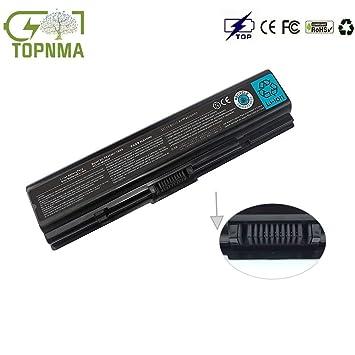 Topnma Batería de Repuesto para portátil Toshiba Satellite PA3533U PA3534U PA3535U-1BAS BRS PA3533U-1BAS PA3533U-1BRS PA3534U-1BAS PA3534U-1BRS PA3535U-1BAS ...