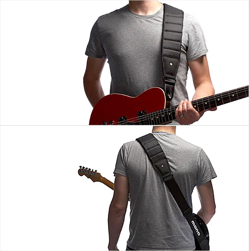 MONO GS1 GS1-BTY-BLK-L Betty Long Guitar Strap - Black Mono Cases M80-BTY-BLK-L