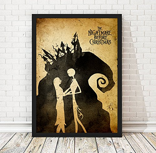 Tim Burton Nightmare Before Christmas Artwork.Amazon Com Tim Burton Nightmare Before Christmas Minimalist