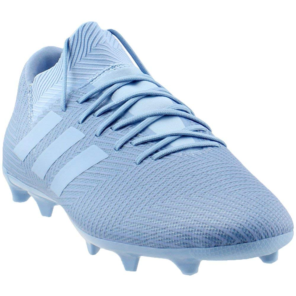 938d2c323 Galleon - Adidas Men s Nemeziz Messi 18.3 FG Ash Blue Ash Blue Raw Grey 7.5  D US