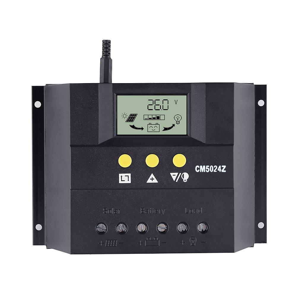Sun YOBA Solar Charge Controller Solar Controller 50A 12V 24V CM5024Z