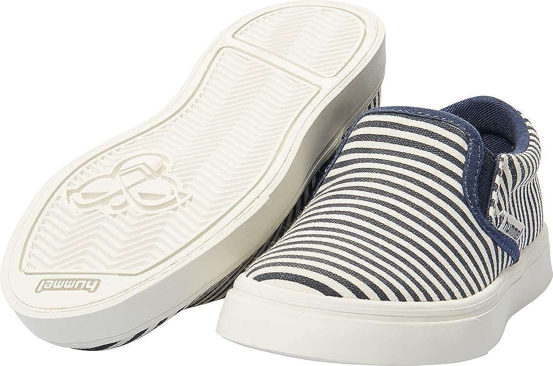 Hummel Unisex Kids Slip-on Stripes Jr Loafers