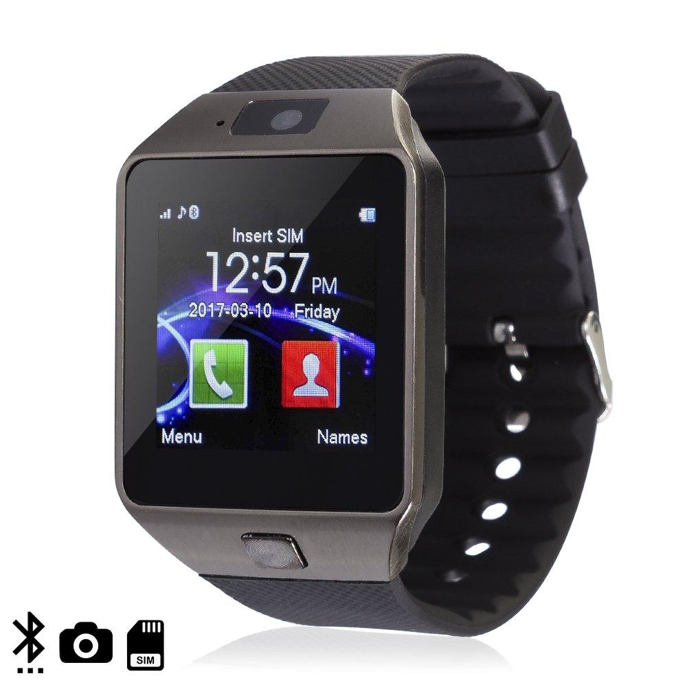 DAM TEKKIWEAR. Smartwatch Ártemis BT Black con SIM, cámara y Slot ...