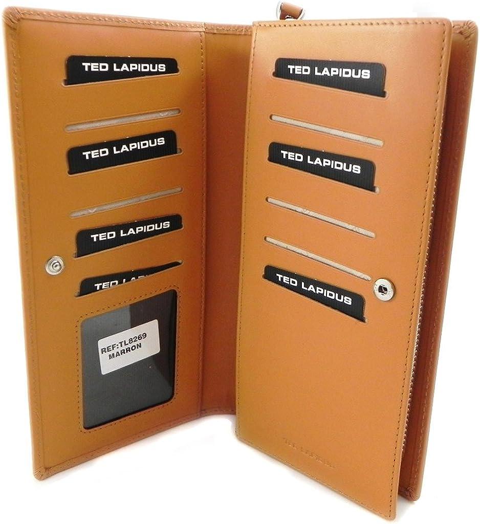 Compagnon zipp/é Ted Lapidus Marron I1347 Ted Lapidus