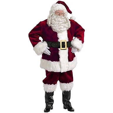 Amazon.com: Majestic Santa traje adulto – Talla XXXL: Clothing