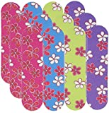 Fun Express Girly Mini Emery Boards (36 Pack) | Pretty Nail Files